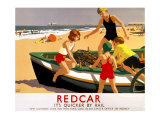 LNER, Redcar, 1936-1937 Giclee Print by Leonard Cusden