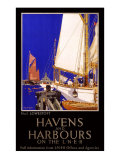 LNER, Havens and Harbours, 1923-1947 Giclee Print by Frank Mason