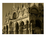 St. Marks in Venice (Sepia) Photographic Print by Michael Henderson