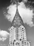 Top of Chrysler Building Print by Henri Silberman