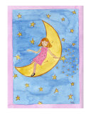 Twinkle Twinkle Little Star Giclee Print by Leighann Hill