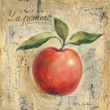 La Pomme Posters af Silvia Vassileva