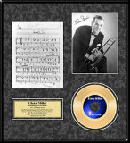 Glenn Miller Framed Memorabilia
