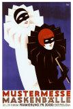 Mustermesse Ball Giclee Print by  Heinzecker