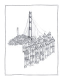 Golden Gate Prints by Avery Tillmon
