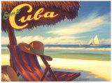 Escape to Cuba Affiches par Kerne Erickson