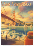 San Francisco Poster von Kerne Erickson