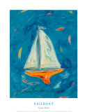 Sailboat Posters by Cynthia Hudson