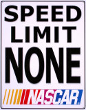 Nascar Tin Sign