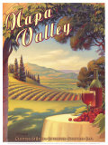 Napa Valley Affiches par Kerne Erickson