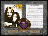 John Lennon Framed Memorabilia