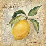 Le Citron Posters by Silvia Vassileva