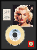 Marilyn Monroe Framed Memorabilia