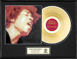Jimi Hendrix Framed Memorabilia