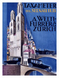 Taxameter, Zurich Giclee Print by  Morach