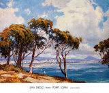 San Diego from Point Loma Posters by John Comer