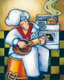 Musical Chef II Print by Chase Webb