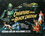 Creature From The Black Lagoon Tin Sign