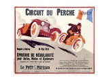 Circuit du Perche Giclee Print by Joe Bridge