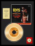 Elvis Presley Objeto de coleccionista enmarcado