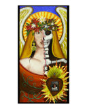 Frida's Sacred Heart Giclee Print by Asereht Orecul