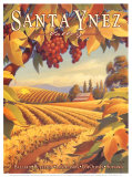 Santa Ynez Valley Affiches par Kerne Erickson