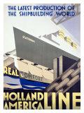 Holland Amerika Linie Giclée-Druck
