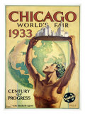 World&#39;s Fair, Chicago, c.1933 Giclee Print by Hernando Villa