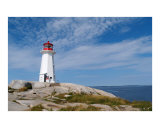 Peggy's Cove Lighthouse,  Nova Scotia Photographic Print by Joseph Gillette