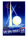 World's Fair, New York, c.1939 Reproduction procédé giclée