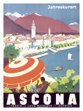 Ascona Swiss Giclee Print