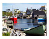 Peggy's Cove  Nova Scotia Photographic Print by Joseph Gillette
