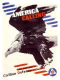 America Calling Giclee Print by Herbert Matter