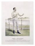 John L. Sullivan, Irish Boxer Reproduction procédé giclée