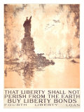 That Liberty Shall Not Perish Giclee Print by Joseph Pennell