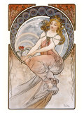 Painting Giclee Print by Alphonse Mucha