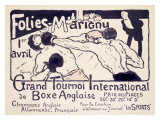Folies-Marigny, Tournoi de Boxe Lmina gicle por Charles Genty