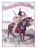 Buffalo Bill's Wild West, An American Indian Lámina giclée