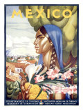 Mexico, Senorita Giclee Print