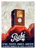 Pathe Tube Radio Giclee Print