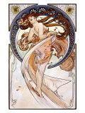 Danza Lámina giclée por Alphonse Mucha