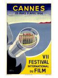 Cannes / VII festival international du film Reproduction procédé giclée par  Piva