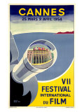 Cannes, VII Festival International du Film, 1954 Giclee Print by  Piva