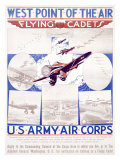 WWI, U.S. Army Air Corps Recruiting Impresso gicle
