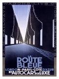 La Route Bleue Giclee Print