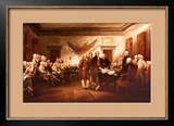 Declaration of Independence, 4 July, 1776 Posters by John Trumbull