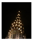CHRYSLER LIGHTS Photographic Print by WAYNE K. HOUSER