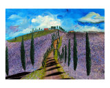 Somewhere in Tuscany IX Giclee Print by Ron DeMore