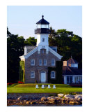 Morgan Point Light, Mystic Harbor, Connecticut Photographic Print by Joseph Gillette