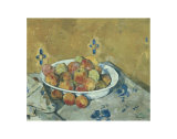 The Plate of Apples, c.1897 Posters by Paul Cézanne